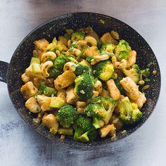 Cashew-Brokkoli mit Hähnchen Rezept | Küchengötter