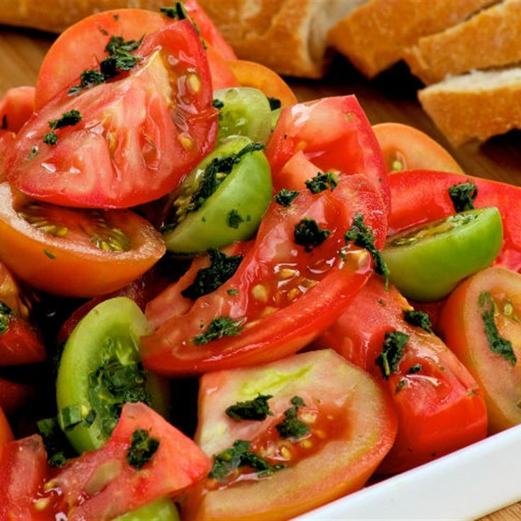 Try this Tomato Salad with Herb Dressing recipe by Chef Lyndey Milan . This recipe is from the show Lyndey Milan's Taste of Australia.