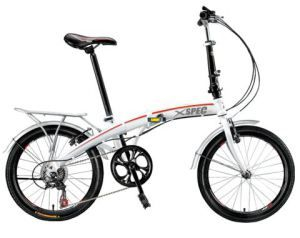City Folding Compact Bike Xspec 20 7 Speed Compact Urban Bicycle Commuter Shimano