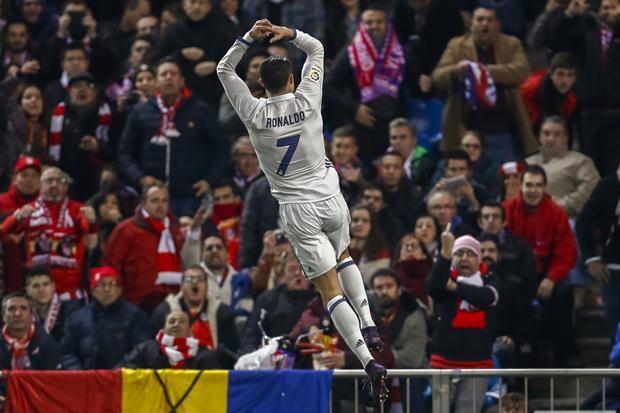 Salta Cristiano Ronaldo tras su primer gol; cada festejo fue una actuación personal