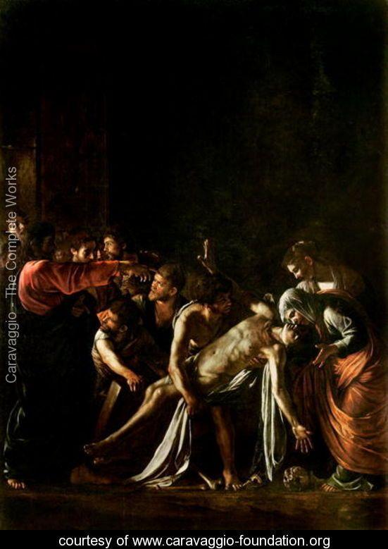 Resurrection of Lazarus (detail-1)
