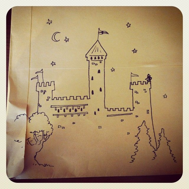 Envelope doodle from Savannah Jarett.  Do you see Kyra? #midnightthief #fanart