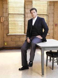 Nathan Fillion love his shows firefly and castle!!!!!!!!!