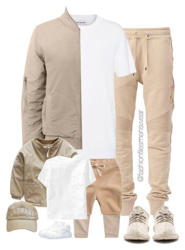 """""""Little Fella"""" by highfashionfiles ❤ liked on Polyvore featuring Neil Barrett, NIKE, Old Navy, men's fashion and menswear"""