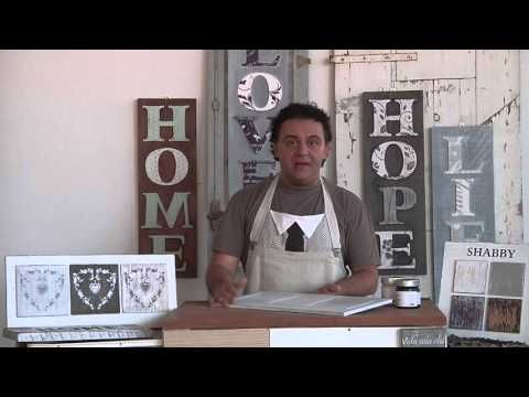 Shabby chic: come decapare - Come fare con Barbara - YouTube