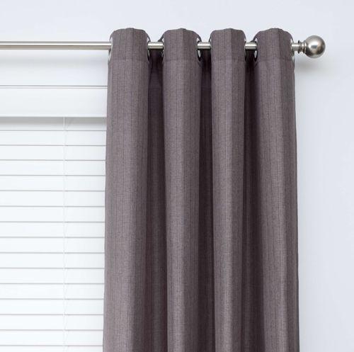 Derby Grey Eyelet Curtains