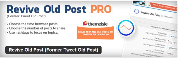 How to Automatic Share your Old WordPress Post on Social Media