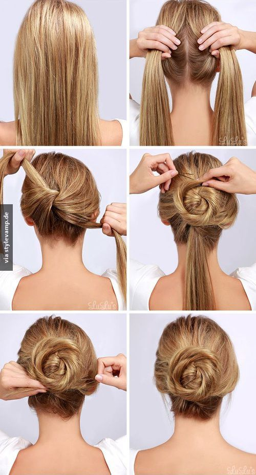 Fast And Easy Hairstyles Custom 34 Best Fast Hairstyles Images On Pinterest  Hairstyle Ideas Quick
