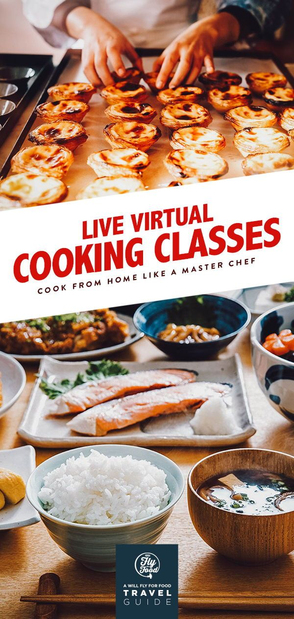 Virtual Cooking Classes Private Online Courses Will Fly For Food Cooking Classes Cooking Food Guide