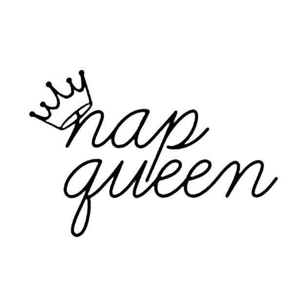Check out this awesome 'NAP+QUEEN' design on @TeePublic!