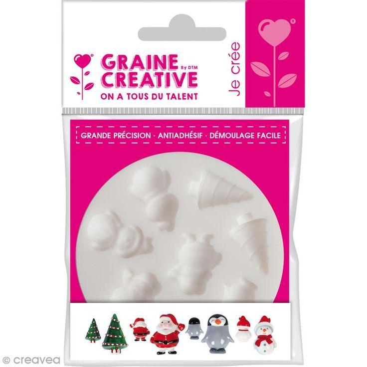 Compra nuestros productos a precios mini Mini molde silicona flexible DTM - Navidad - 8 formas - Entrega rápida, gratuita a partir de 89 € !