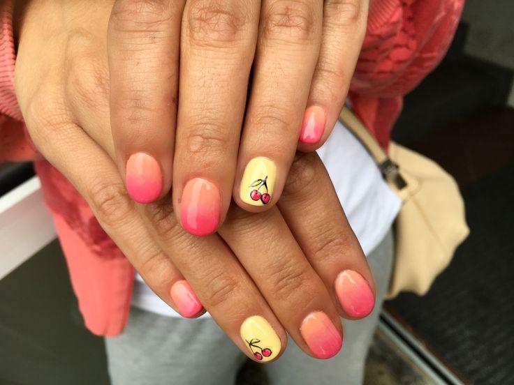 O breezery cherry nails