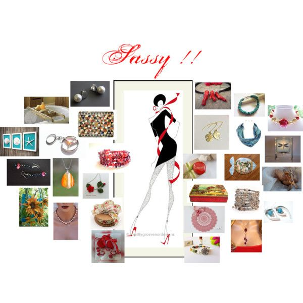 Sassy !! by zebacreations on Polyvore