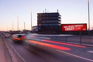 Virgin Trains' Billboards React to How Bad a Traffic Jam You're Sitting In