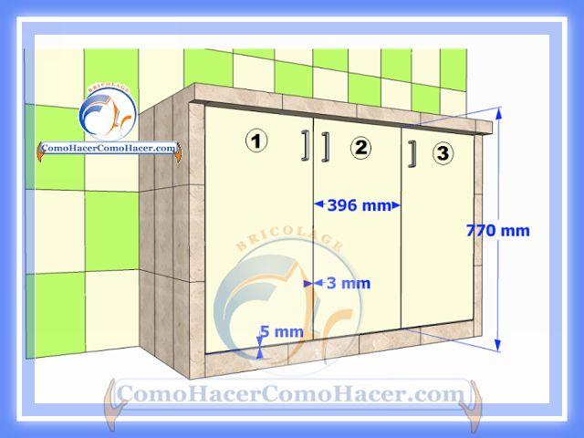 Cocina mesada de concreto gu a detallada para colocar for Puertas de diseno
