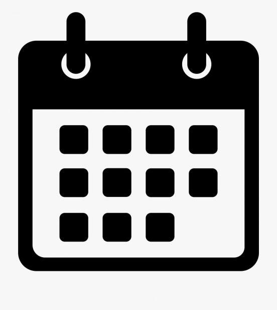 15 Date Icon Png White Foto Sampul Kalender Papan Warna