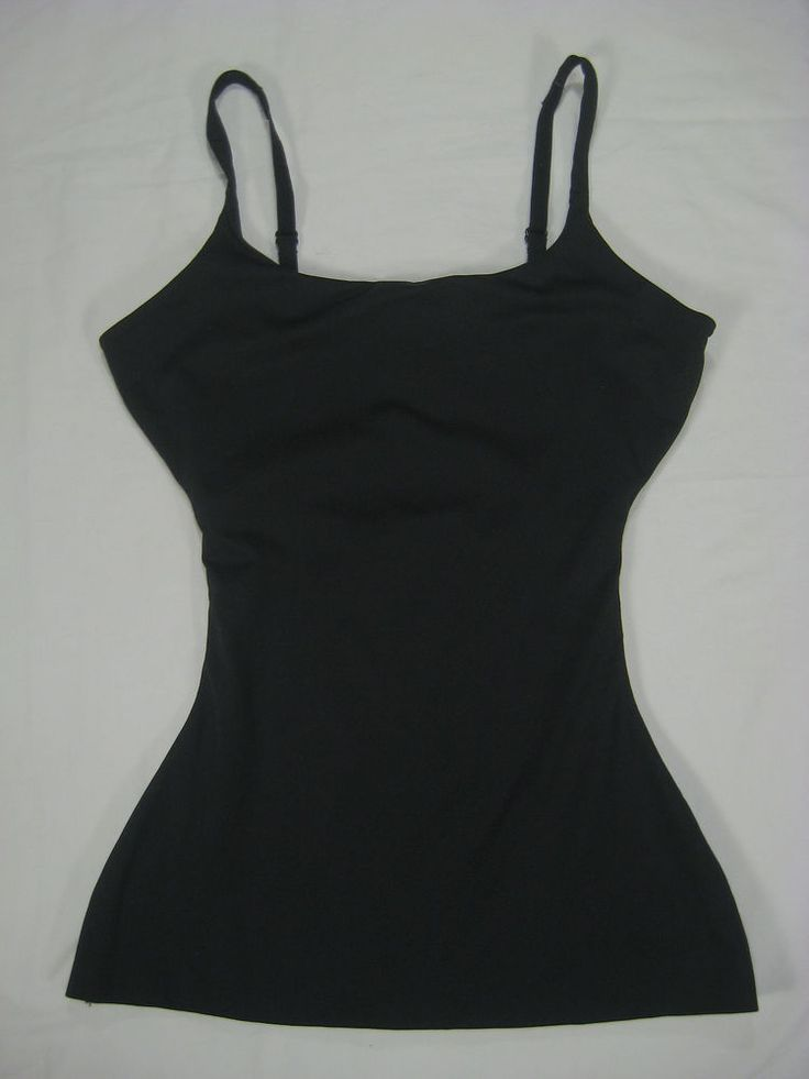 Spanx Shapewear Love Your Assets Cami Top S Black Camisole Shaper #SPANX #ShapingTops