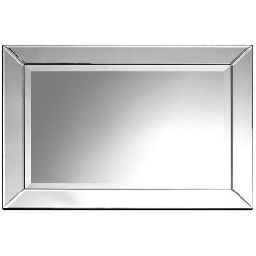 Miroir bizo argent 50x70 cm salle de bains pinterest for Miroir 50x70