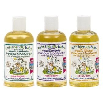 Earth Friendly Baby Baby Shampoo & Bodywash Camomile 251ml :