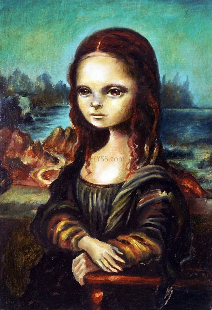 Image of ZELYSS prints: 'Mona Lisa' LIMITED EDITION