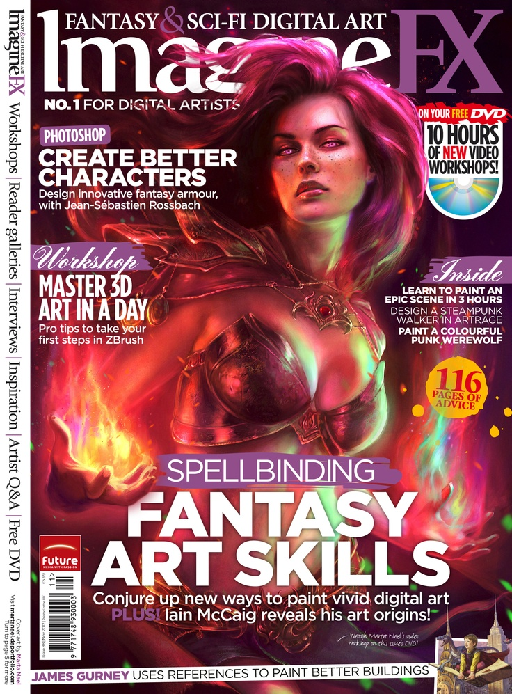 Imagine FX - www.imaginefx.com    #imaginefx #magazine #sci-fi #digitalart #futurepublishing #jobs #bathjobs #londonjobs