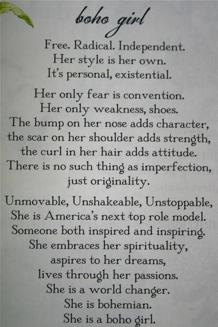 BoHo Girl ☮ Although i don't have a scar on my shoulder, I must have this framed on my wall. How fantastic.