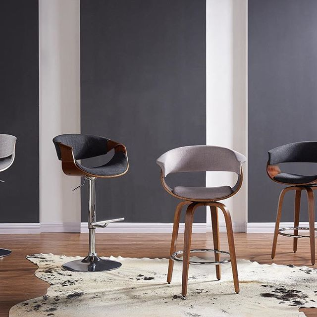 The Chase stools & accent chairs from !nspire bring a contemporary clean feel to any room...    http://worldwidehomefurnishingsinc.com/chase-gas-lift-stool-in-charcoal-grey.html