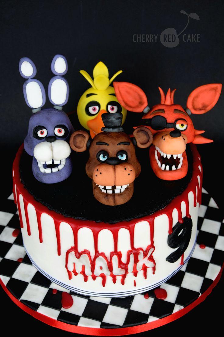 Five Nights At Freddie S Cake Fnaf Cakes Birthdays