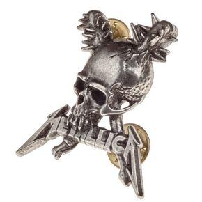 Metallica Damage Pin Badge