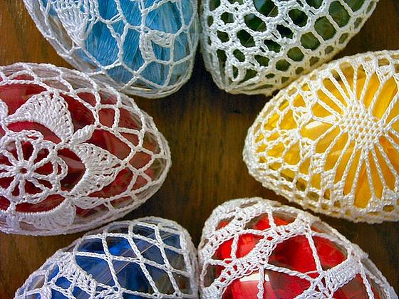 Crocheted Easter Eggs