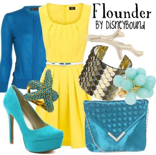 Flounder inspired