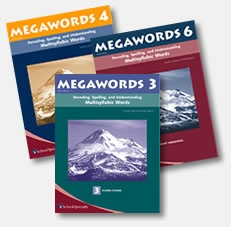 Megawords teaches the reading, spelling, and contextual use of multisyllabic words through multisensory instruction and a systematic progression of skills. Within each book, words are presented in lists arranged by word structure and spelling pattern. Because Megawords is skill based, it can be used in a variety of settings and across all RTI tiers depending on student need and grade level.