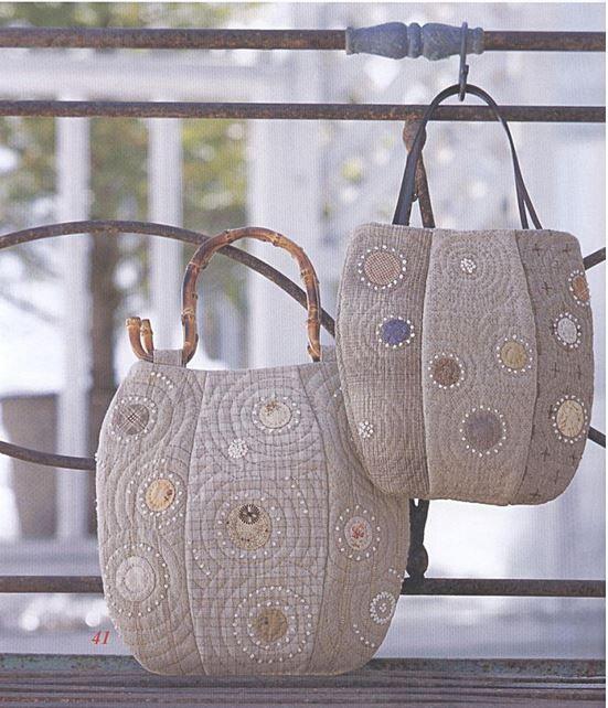 Anese Pattern Purse 枫书坊 成熟优雅の拼布手提包