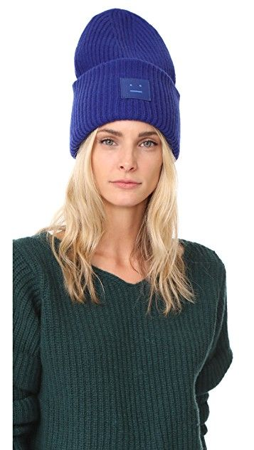 ea95b581efaf03 Pansy L Face Hat | Wish List | Hats, Acne studios, Knitted hats