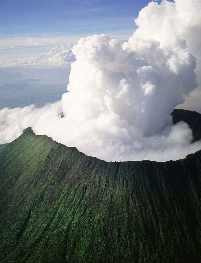 Mount Nyiragongo, Virunga National Park, Democratic Republic of the Congo.