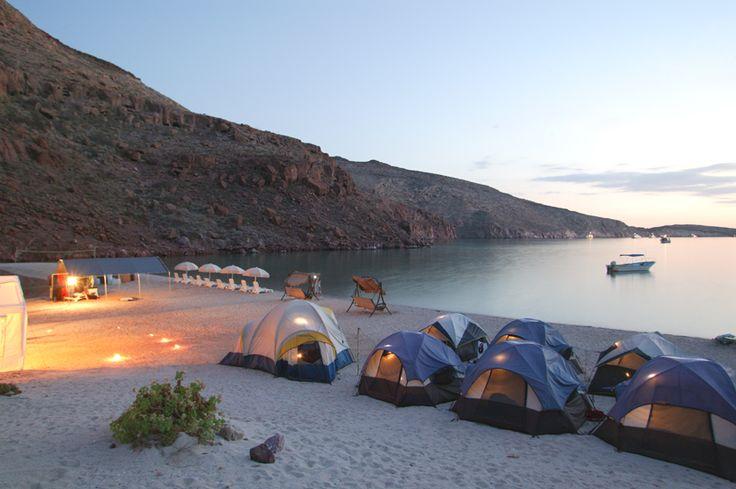 Espiritu Santo camping with Fun Baja!