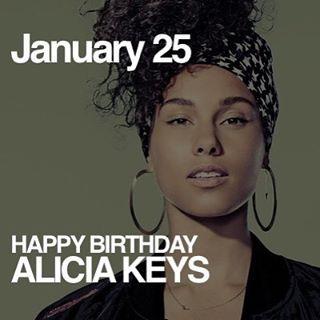 Today is Alicia Keys Birthday!