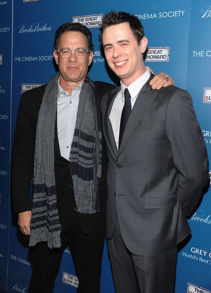 Tom & Colin Hanks (Now)Son: actor