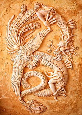 Традиционный китайский дракон — стоковое изображение #11336380