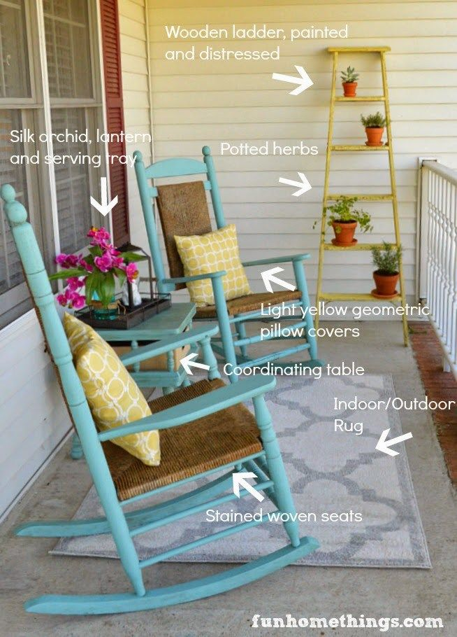 My porch was in desperate need of attention. It had potential and painting the rocking chairs helped, but there was nothing charming or inviting about it. Could you sit out there? Sure. But that was about it. So last weekend, I pulled together all of the decorations and supplies I had gathered over the last …