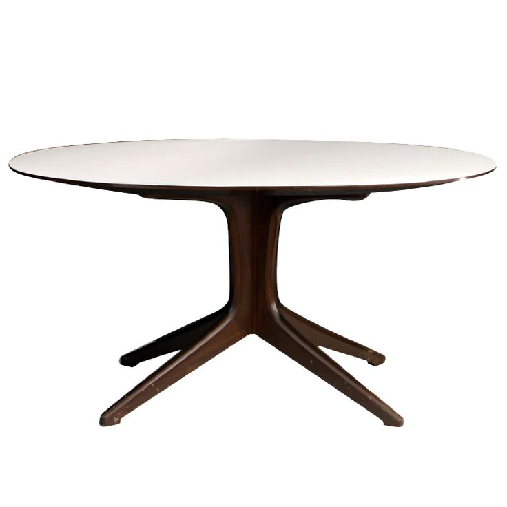 1stdibs | Oval Dining Table