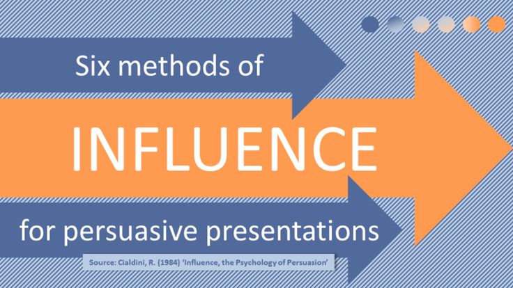 VIDEO: Six Methods of Influence for Persuasive Presentations — Active Presence