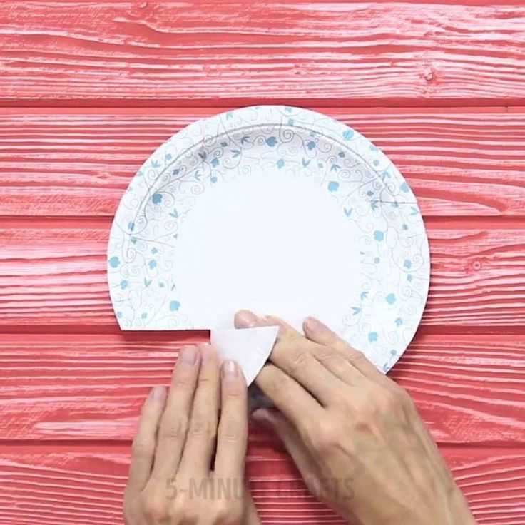 how to make paper plate boxes