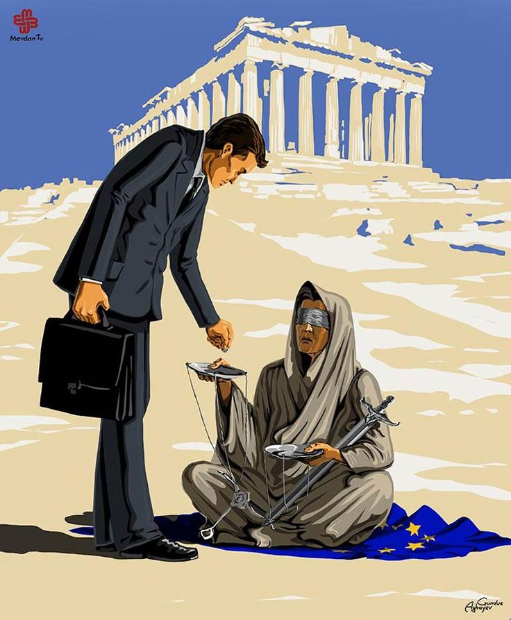 The Justice is dead – The satirical illustrations of Gunduz Agayev (image)