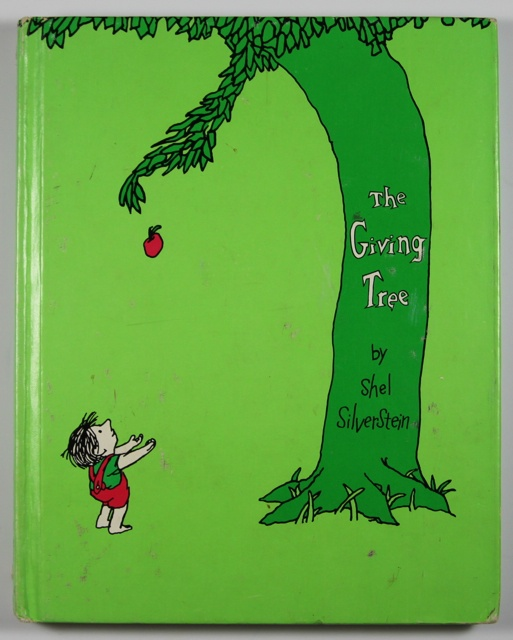 The Giving Tree: Kid Books, The Giving Tree, Kids Books, Books Worth, Chalkboards Signs, Shel Silverstein Books, The Give Trees, Favorite Books, Children Books