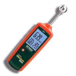 http://www.termometer.se/Oforstorande-fuktmatare-med-sfarisk-givare.html  Oförstörande fuktmätare med sfärisk givare  53-MO257 är en oförstörande professionell fuktmätare som mäter ända ner till c:a 4cm.    Du kan ställa in larmgräns vilket underlättar jobbet avsevärt vid mätning av större ytor. Med en och samma knapp väljer du On/Off, min/max-värden, samt inställning av larmgränser.    Oförstörande fuktmätare för icke-invasiv mätning 0,0 till 100,0 med 0,1 upplösning Multifunktion...