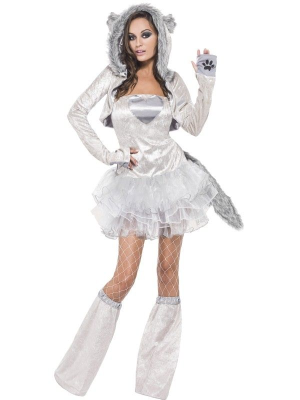 Fever Wolf Tutu Dress and Detachable Clear Straps at funnfrolic.co.uk - £29.79