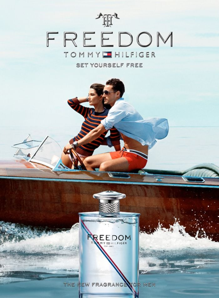 Arthur Kulkov is a Free Spirit for Tommy Hilfigers Freedom Fragrance Campaign