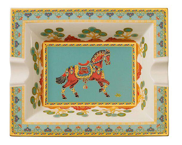 Пепельница из коллекции Samarkand Aquamarine, фарфор, Villeroy & Boch.