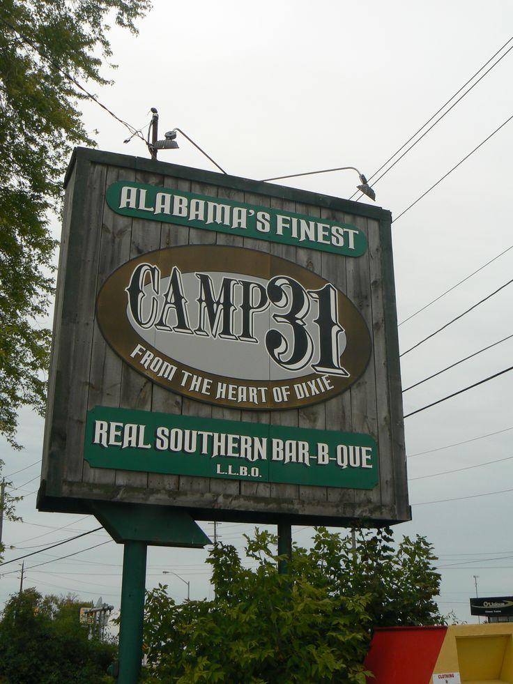 Camp 31 BBQ in Paris, Ontario, Canada has great food!